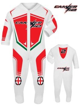 Leon Camier WorldSBK MV Agusta Reparto Corse Official 2017 babygrow romper suit