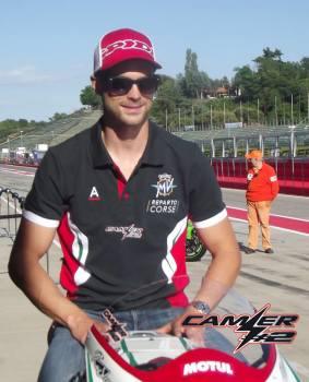 MV Agusta Reparto Corse Leon Camier Special Edition Official Polo shirt