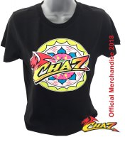 Chaz Davies 7 official women's t shirt black WSBK Aruba Ducati team rider