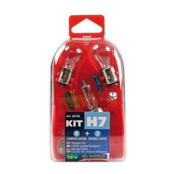 Motorcycle H7 bulb fuse kit