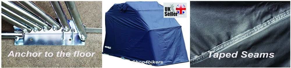 Motorcycle waterproof cover shelter