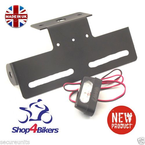 Motorcycle universal tail tidy fitted with led light