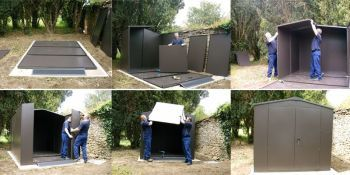 Large & XL large motorcycle garage Installation Service