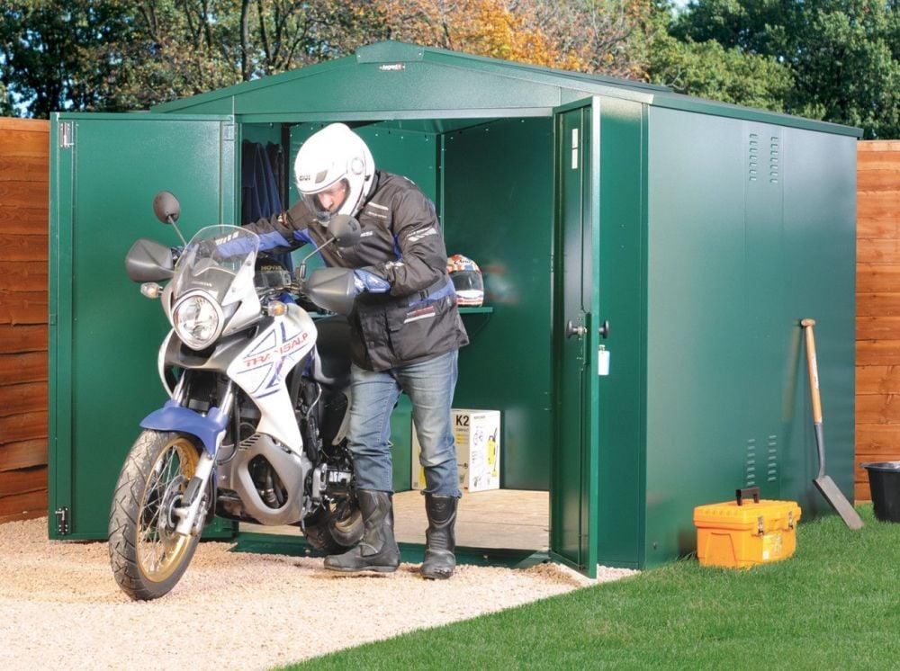 Motorcycle Storage Garage 7ft x 8ft
