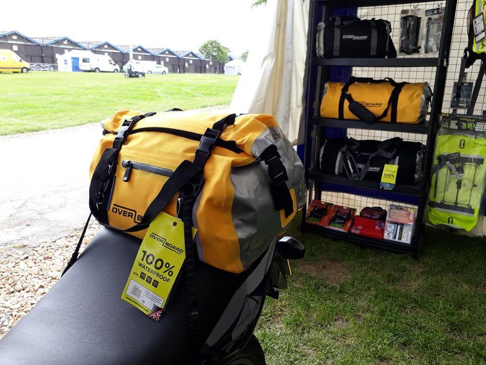 Motorcycle waterproof bags & ROK straps