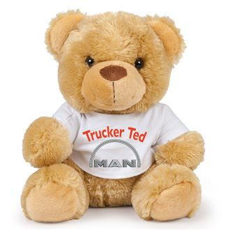 2 - Teddy Bear MAN Trucker Ted