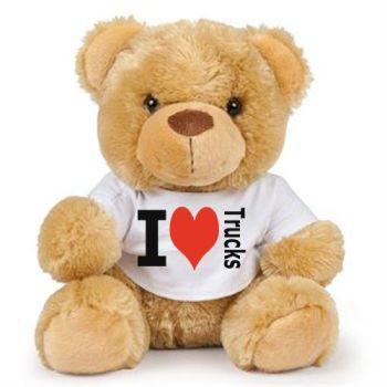2 - Teddy Bear I Love Trucks