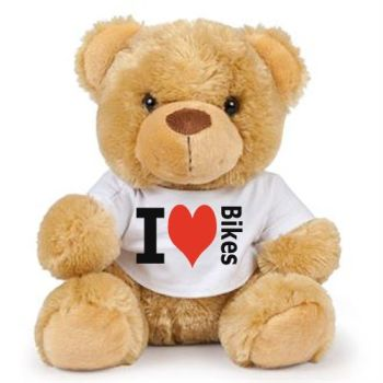 Teddy bear Stay Safe warmest hugs brown soft toy gift