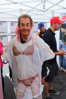 A - Rain Poncho the Steve Parrish Way one size double sided women bikini image ponch