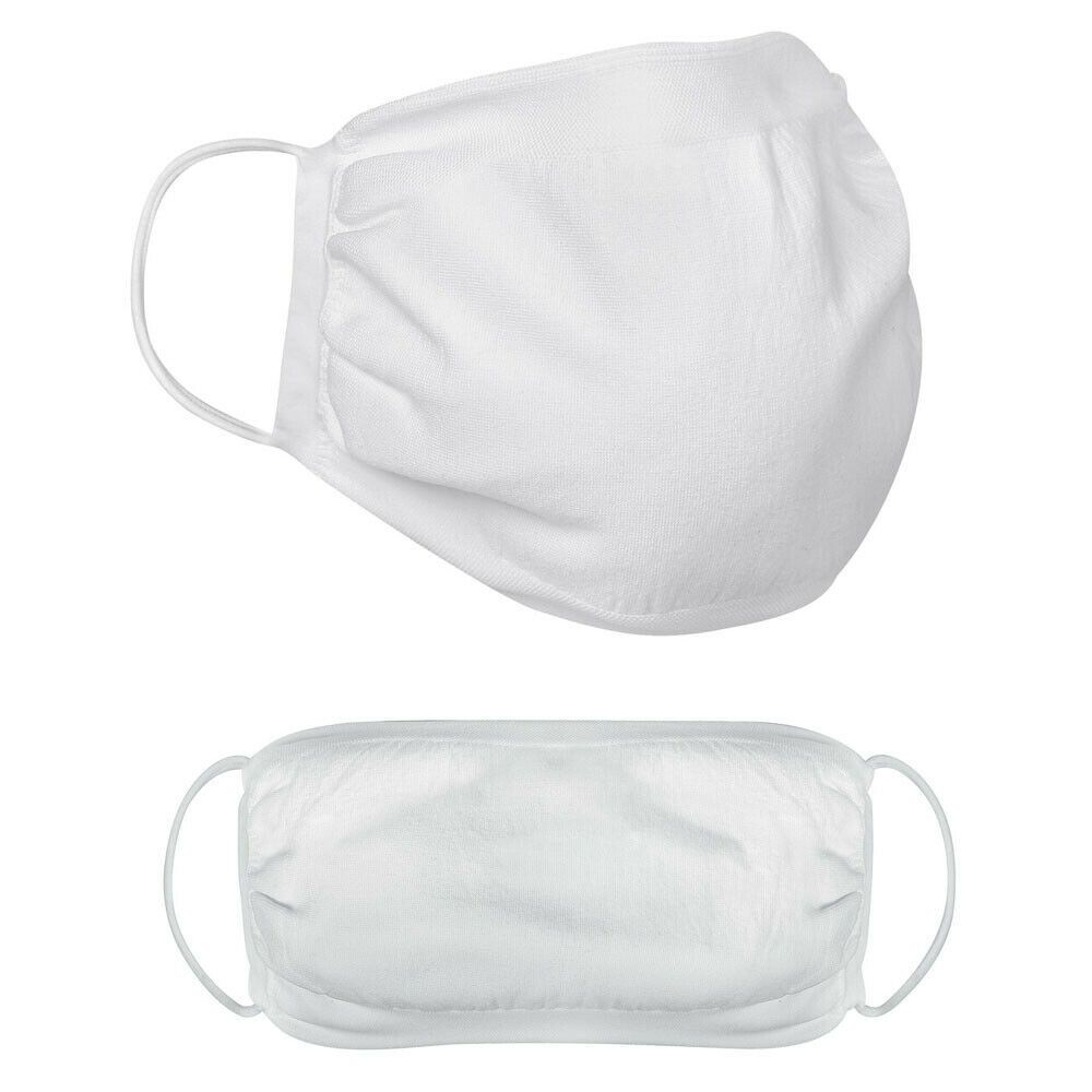 10 x Mouth face mask washable reusable filter with anti-drip antibacterial