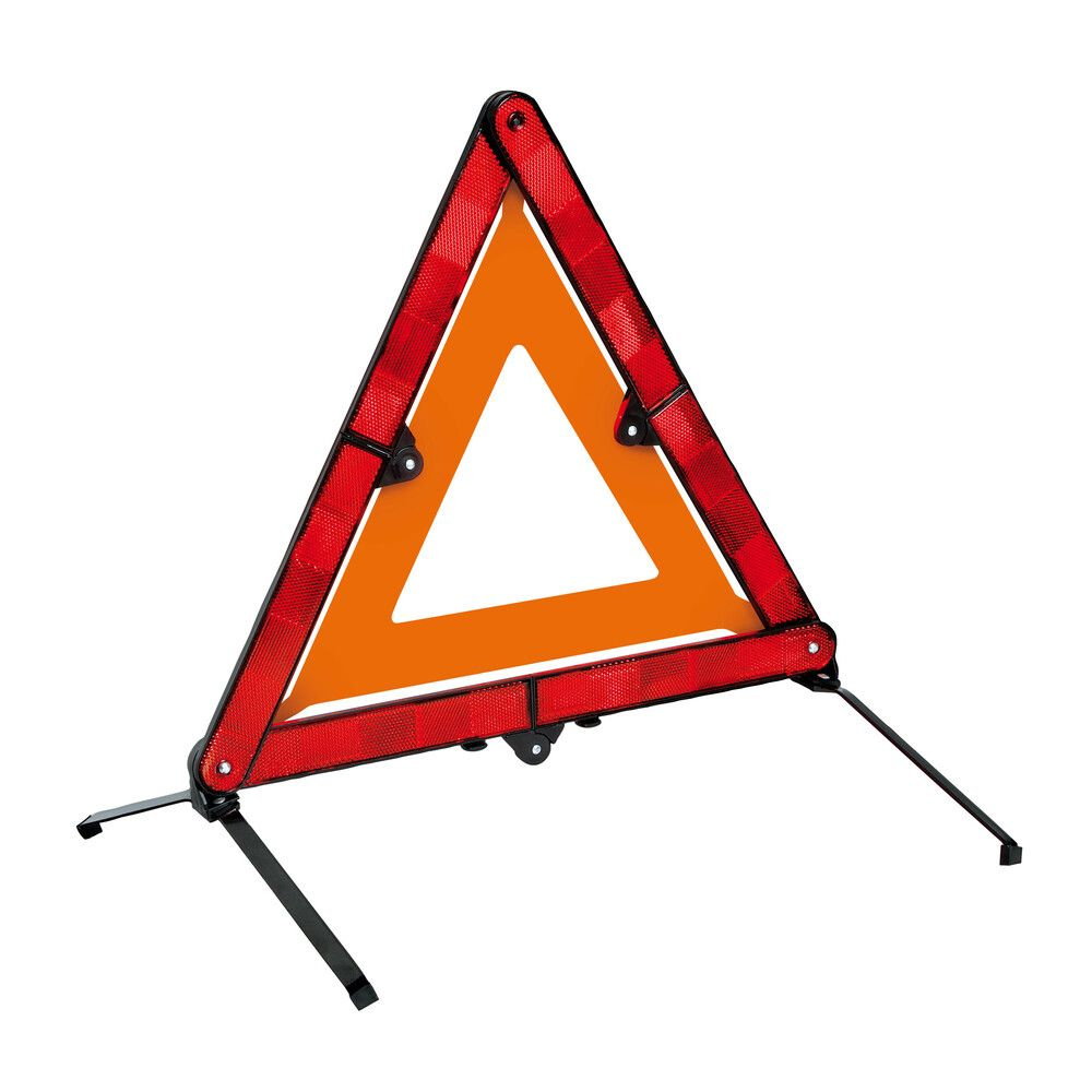 compact breakdown emergency warning triangle High vis EC EN approved