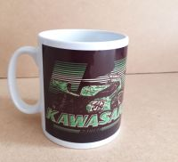 Kawasaki Racing Retro Classic 80's Design Ceramic Mug 10oz