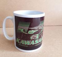 Kawasaki Racing Retro Classic 80's Design Ceramic Mug 10oz