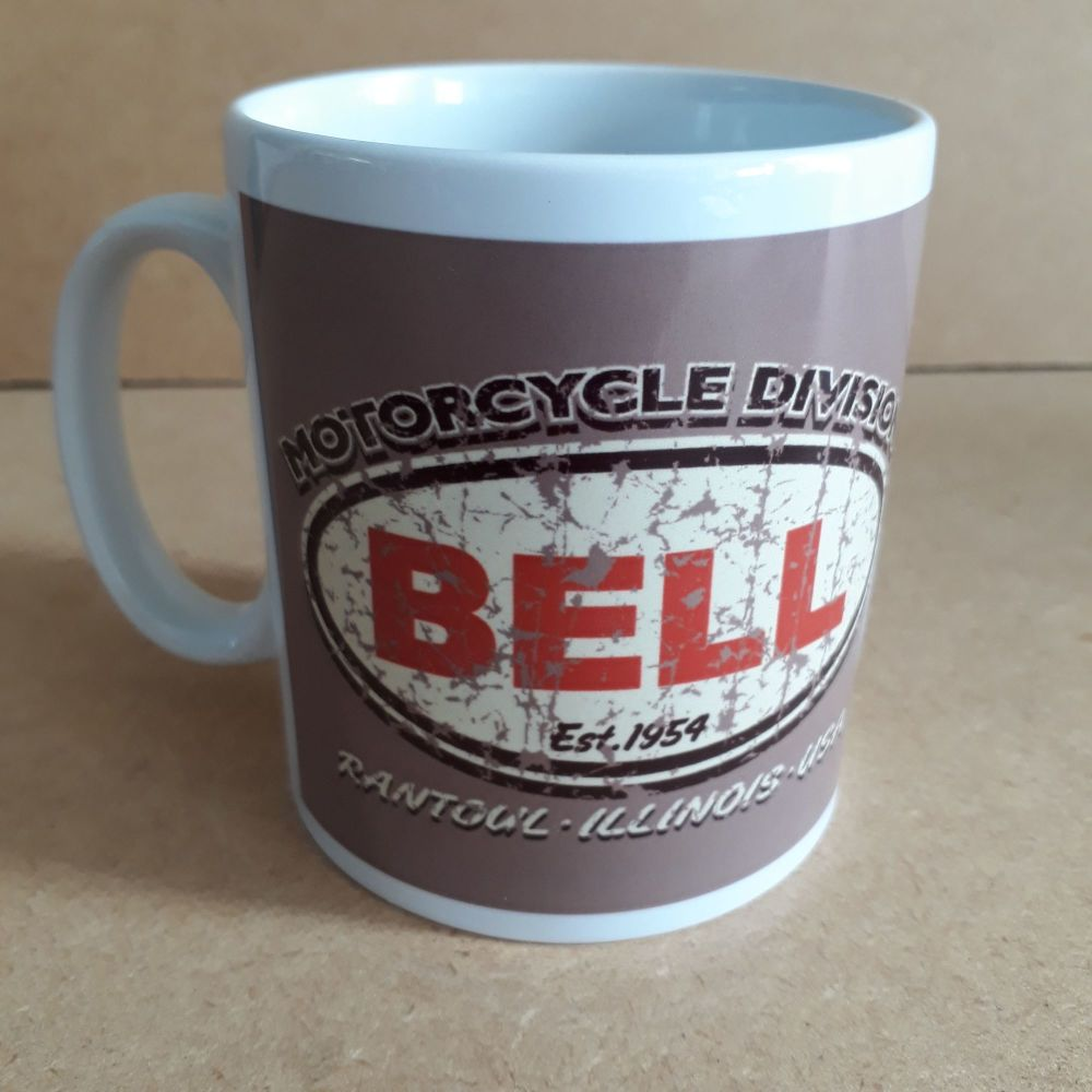 Bell Auto Racing Retro logo Classic Design Ceramic coffee Mug 10oz