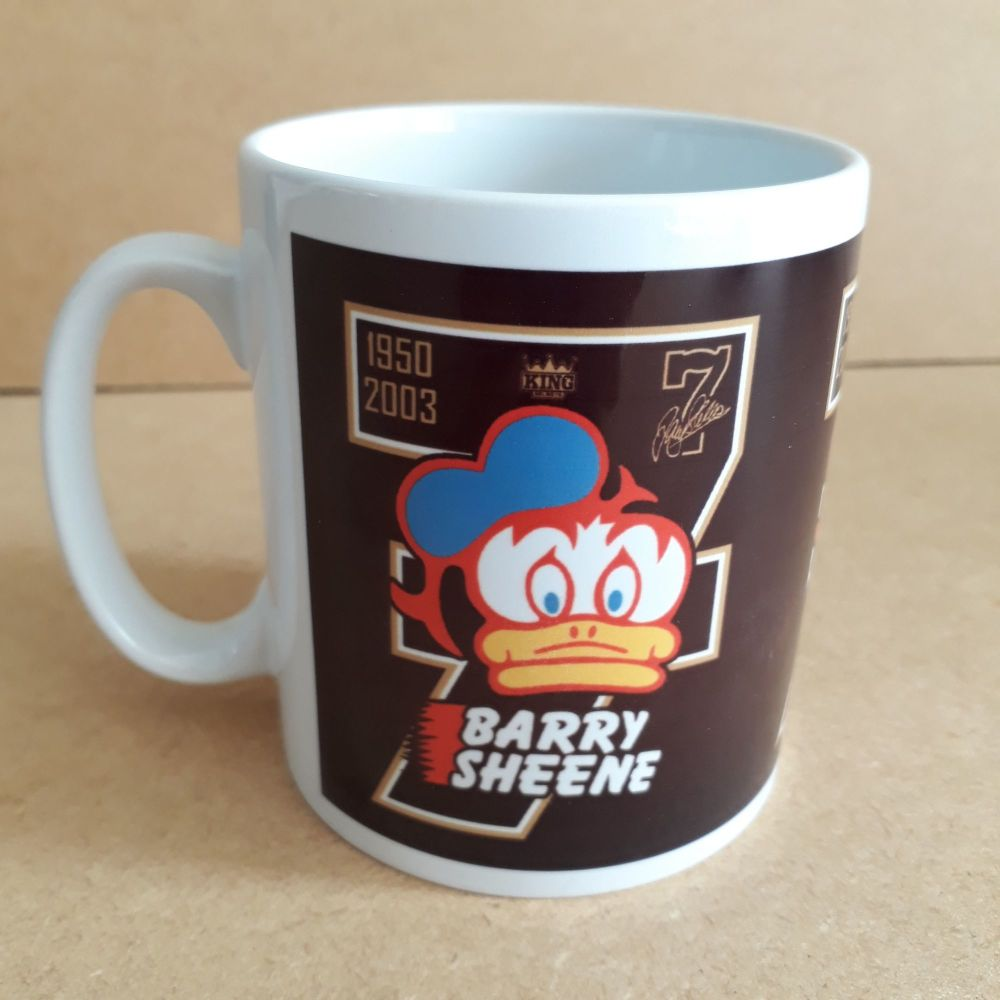 Barry Sheene number 7 Retro logo Classic 80's Design Ceramic coffee Mug 10o