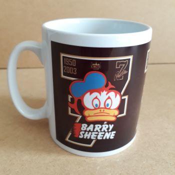 Barry Sheene number 7 Retro logo Classic 80's Design Ceramic coffee Mug 10oz