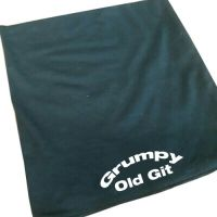Grumpy old Git black 100% cotton neck tube mask