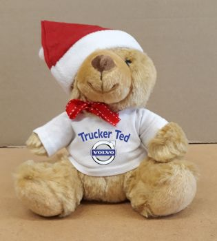 2 - Christmas Teddy Bear Volvo Trucker Ted