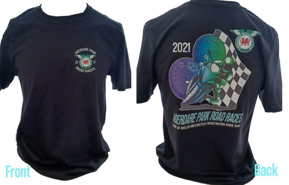 Aberdare Park Road Races official tee t-shirt
