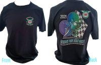 Aberdare Park Road Races official tee t-shirt black unisex