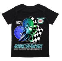 Aberdare Park Road Races Official Kids black tee t-shirt