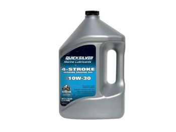 92-8M0086221 QUICKSILVER 1W/30 OUTBOARD OIL 4 LITRE BOTTLE