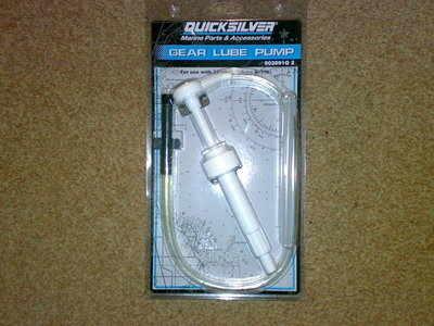 QUICKSILVER MERCURY MARINER GEAR LUBE PUMP 91-802891Q2