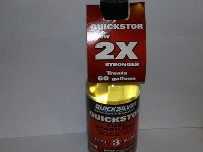 92-8M0047922 QUICKSILVER QUICKSTOR FUEL STABILISER