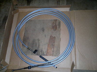 877773A17 / 897977A17 MERCURY MARINER PLATINUM CONTROL CABLES 17 FT