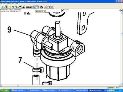 35-879884T FUEL FILTER ASSEMBLY
