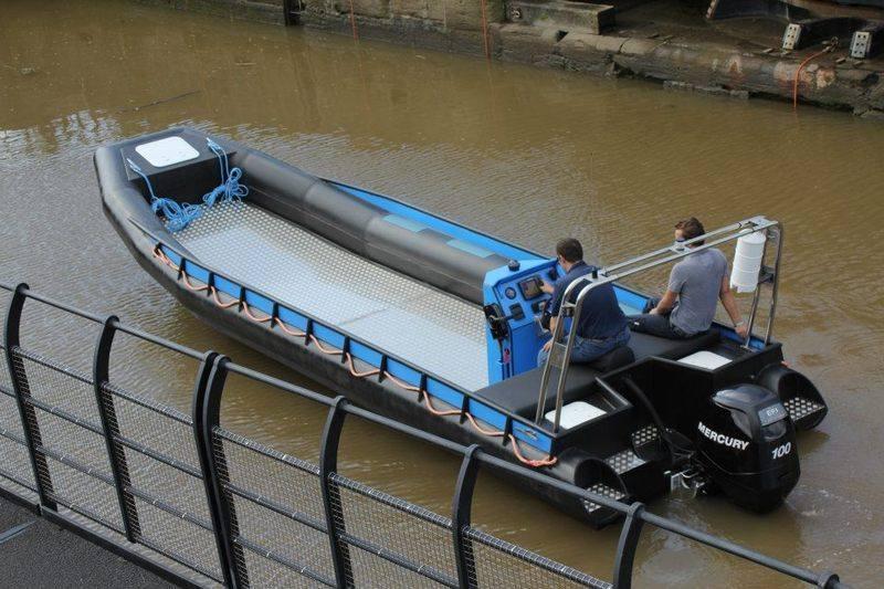 Seahorse marine work boat