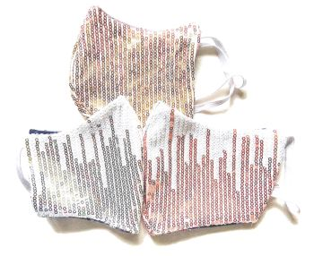 3 Tweed Queen Facemasks - Glitterball