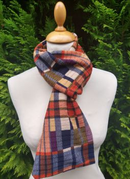 Perfect Plaid Scarf  - pumpkin spice