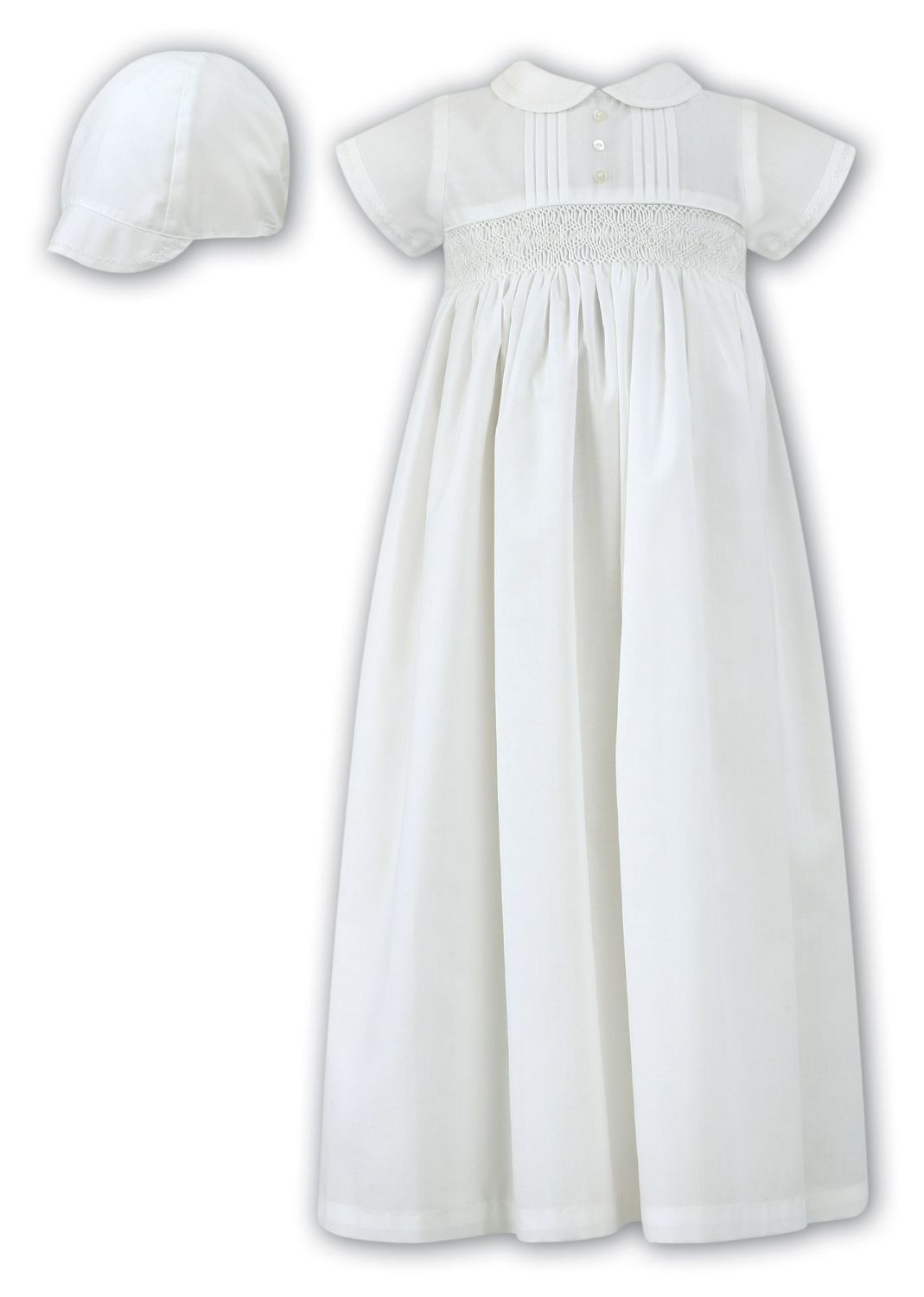 Ivory Baby Boys Or Gender Neutral Christening Gown Sarah