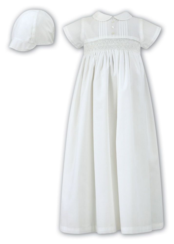 864875840 Ivory baby boys or gender neutral christening gown Sarah Louise 1178 ...