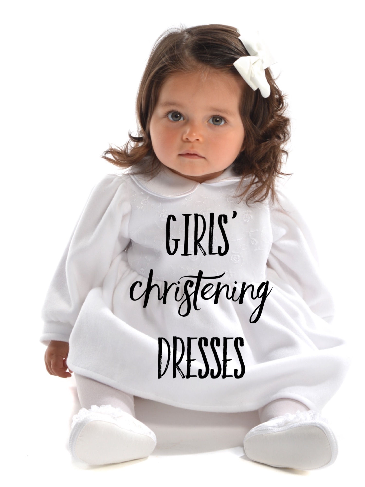 Girls' Christening Dresses & Outfits