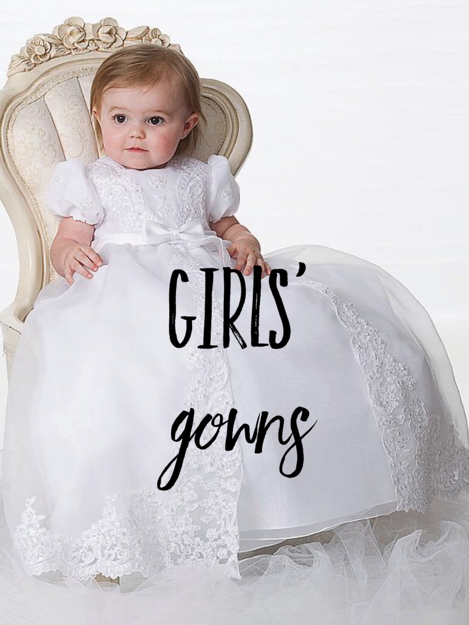 Christening Dresses Gowns & Outfits for Baby Boys & Girls by Just