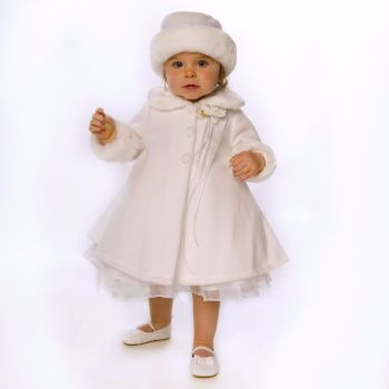 Cosy Fleece Hat & Coat Set