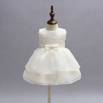 Sophie Christening Dress in Ivory