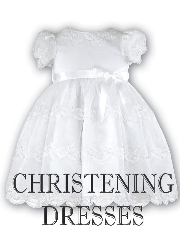 9d4bb76f6ae7a Christening Dresses, Gowns & Outfits for Baby Boys & Girls by Just ...