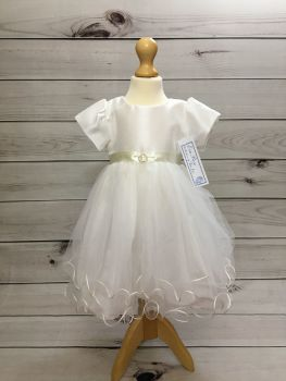 'Lucy' Ivory Christening Dress by Eva Rose