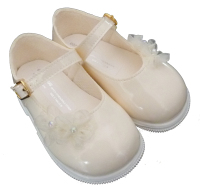 Early Days Patent Ivory Walker Shoes 705