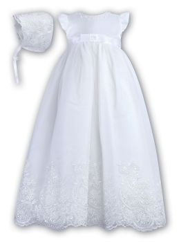Sarah Louise Organza Gown 1089 in white