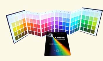 Ulrich Welte's Colour Repertory and Colour Chart - collect at seminar