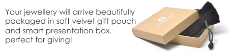 Beautifully packaged jewellery