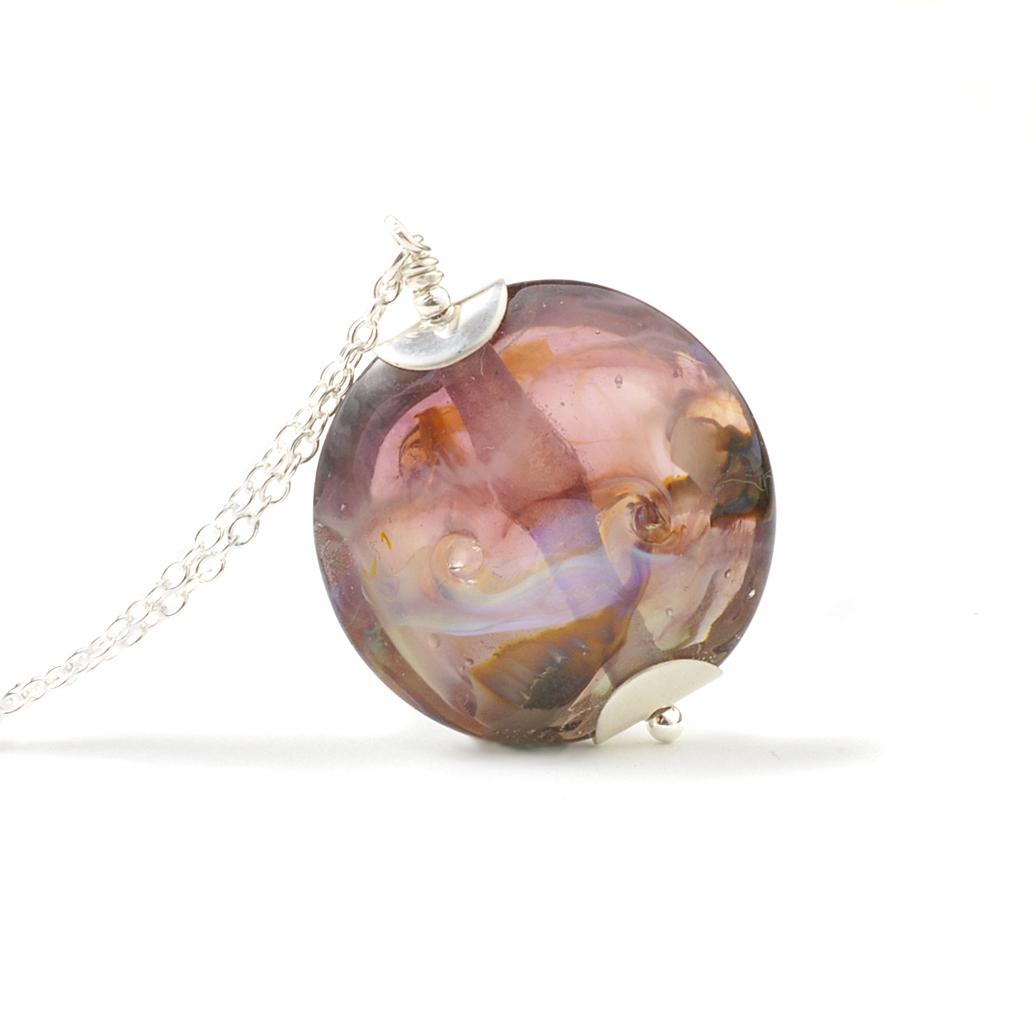 Mystic Twist Glass Necklace