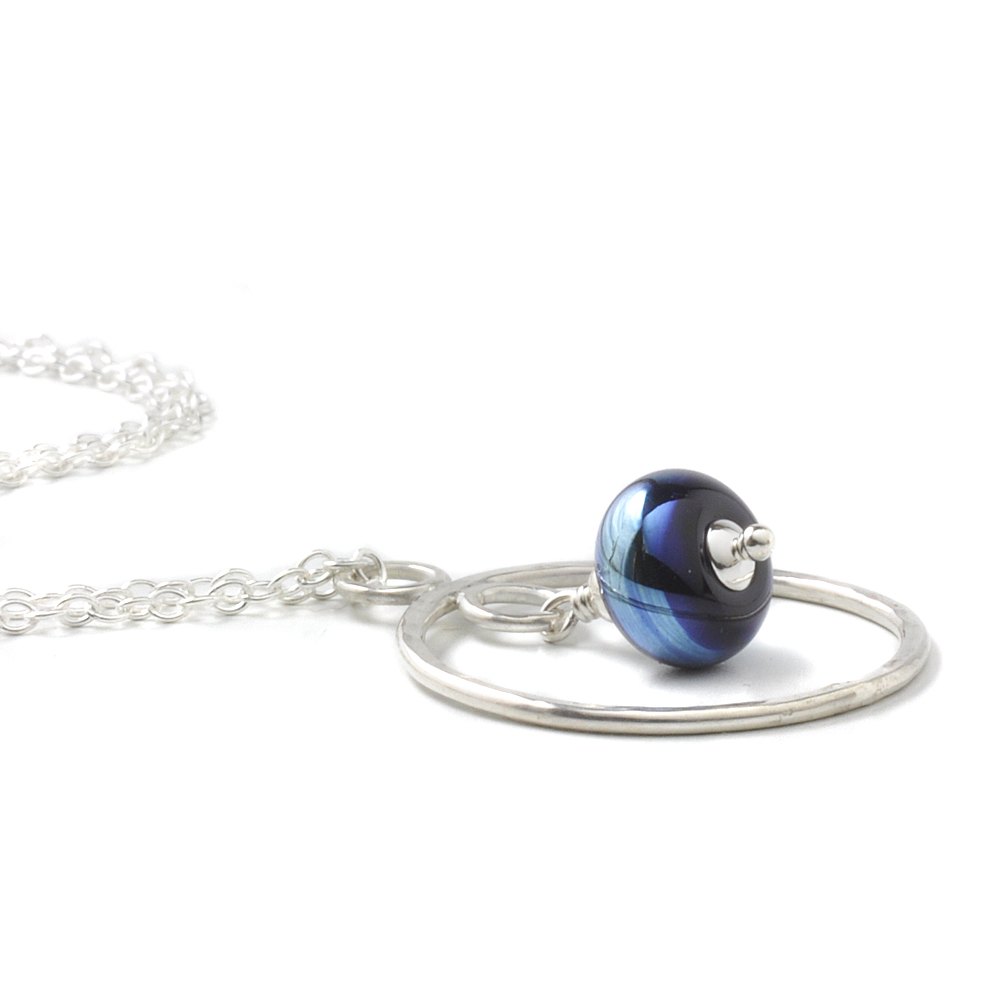 Circlet Necklace | Lampwork Glass Jewellery