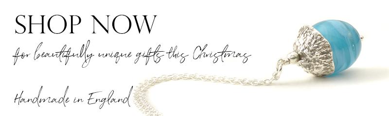 Acorn Necklace | Handmade Glass Jewellery