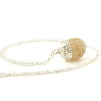 Acorn Necklace #04