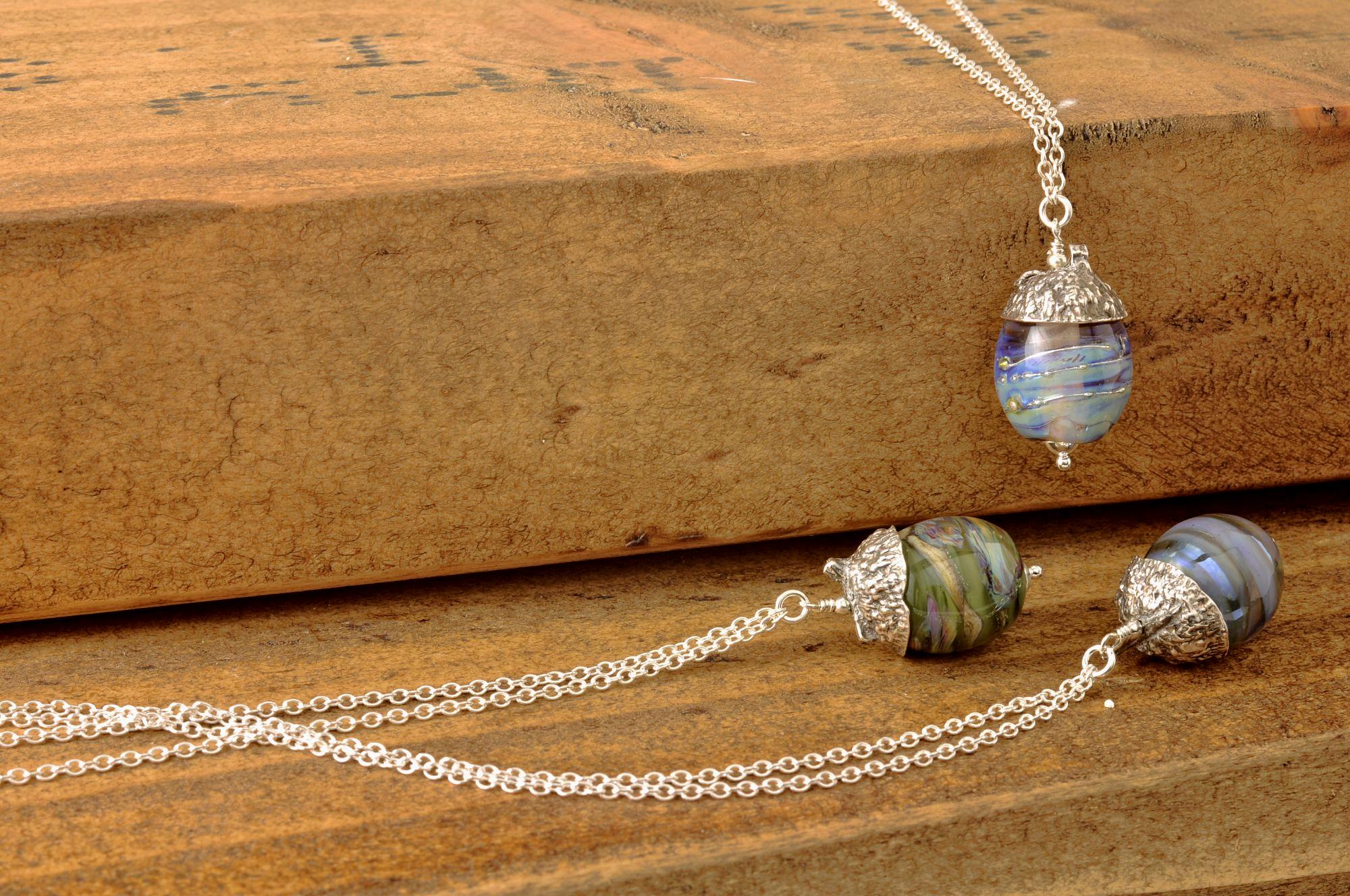 Petal Collection | Lampwork Jewellery Handmade in England